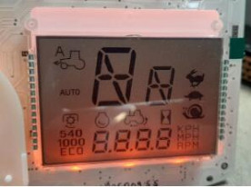New project - Massey Ferguson 6400/7400-Sarja-series tractor lcd display - in developping