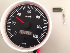 LCD replacement for repair Kenworth trucks / VDO cockpit / Jcb tractor / Volvo penta boats