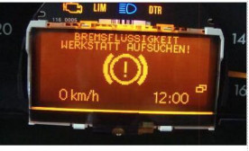 SA1012 best selling LCD Display for Mercedes C Class