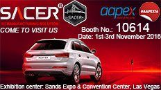 SACER is going to attend AAPEX 2016